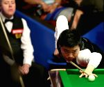 BRITAIN SHEFFIELD SNOOKER WORLD CHAMPIONSHIP SECOND ROUND