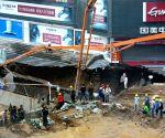 CHINA SHENYANG SUBWAY CONSTRUCTION SITE COLLAPSE