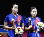 CHINA SHENZHEN TABLE TENNIS CHINA OPEN WOMEN'S DOUBLES