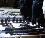 AFGHANISTAN JAWZJAN WEAPONS HAND OVER