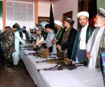 AFGHANISTAN-JAWZJAN-TALIBAN SURRENDER CEREMONY