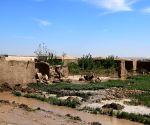 AFGHANISTAN JAWZJAN FLOOD HOMELESS