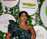 Shilpa Shetty nails elegance in her polka vintage themed saree look