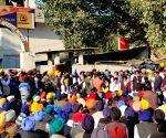 Shiromani Akali Dal's protest against Dalbir Singh Dhilwan's murder