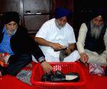 Sukhbir Singh Badal, Bikram Singh Majithia perform 'seva' at Golden Temple