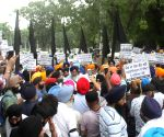 Shiromani Akali Dal's demonstration