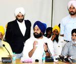 Bikram Singh Majithia's press conference