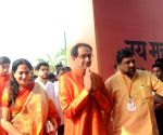Shiv Sena National Executive meeting - Uddhav Thackeray, Aditya Thackeray
