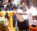 Sanjay Raut, Arvind Sawant pay tribute to Bal Thackeray