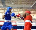 Shiva Thapa storms into semis at Elite Men's National Boxing