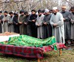 Funeral of NC Sarpanch