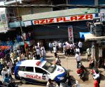 Bomb scare in Begum Bazaar of Hyderabad