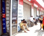 Shops remain closed to protest against attack on CRPF convoy