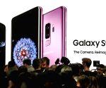 Samsung Galaxy S9 smartphones