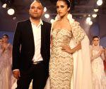 Designer Gaurav Gupta show at the India Couture Week 2014