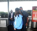 Shweta Bachchan With Her Daughter Spotted at Airport Departure
