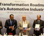 "Launch of report on ""Digital Transformation Roadmap for India's Automotive Industry"