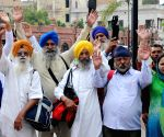 Sikh devotees leave for Pakistan to celebrate Baisakhi