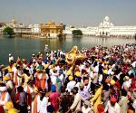 Nagar Kirtan on the eve of Guru Ram Das' birth anniversary