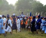 Religious procession organised on 'Fateh Divas