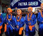 Nagar Kirtan on the eve of the birth anniversary of the 10th Sikh Guru Gobind Singh