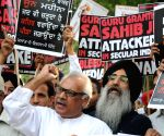 Sikhs' demonstration against 1984 riots