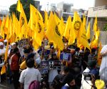 Sikh demonstration against Operation Blue Star