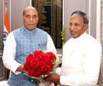 Sikkim Governor meets Rajnath Singh