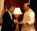 PD Rai calls on Rajnath Singh