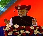 Modi sniggers at opposition's Kolkata rally, terms it 'anti-people'