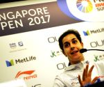 SINGAPORE BADMINTON SINGAPORE OPEN PRESS CONFERENCE