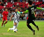 Friendly match between Singapore selection team and Juventus