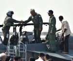Singapore Defence Minister flies in Tejas