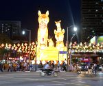 SINGAPORE-CHINATOWN-NEW YEAR LANTERN