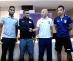 SINGAPORE-SOCCER-AFC ASIAN CUP GROUP E QUALIFIER-PRESS CONFERENCE