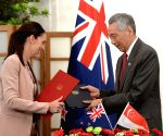 SINGAPORE POLITICS NEW ZEALAND SIGNMENT
