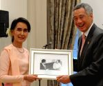 SINGAPORE-MYANMAR-AUNG SAN SUU KYI-OFFICIAL DINNER