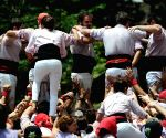 SINGAPORE CATALONIA WEEK CASTELLER