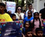 Bappi Lahiri celebrates his birthday