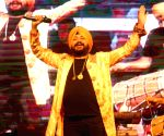 Daler Mehndi performs during a programme