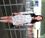 Dhvani Bhanushali seen at Mumbai Airport