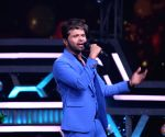 "Himesh Reshammiya on the sets of ""Super Dancer chapter 3"