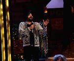Mika Singh, Daler Mehndi on the sets of The Kapil Sharma Show