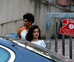 Palak Muchhal seen at Bandra