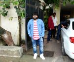 Pritam Chakraborty seen at Mumbai's Juhu