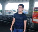 Singer Shaan Spotted Airport Departure