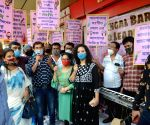 Singers and musicians of BAR and restaurants took part in a protest and demanded to resume their jobs during the lockdown on Coronavirus pandemic in Kolkata.