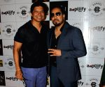 "Music launch of ""Nain Na Jodi""-Mika Singh and Shaan"