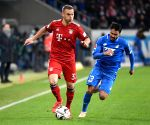 (SP)GERMANY-SINSHEIM-SOCCER-BUNDESLIGA-BAYERN MUNICH VS HOFFENHEIM