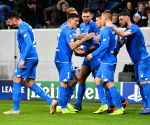 GERMANY-SINSHEIM-SOCCER-UEFA CHAMPIONS LEAGUE-HOFFENHEIM VS SHAKHTAR DONETSK